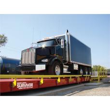 Truck Scale,70x11 OTR ST Steel Deck SURVIVOR OTR Model EZ7011-ST-100-OTR 100,000lb CLC, 200,000lb Capacity, 4-Section, 5/16 Top Plate