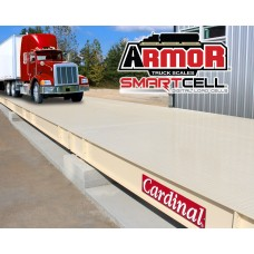 ARMOR Steel Deck Truck Scales with Digital SmartCells 70 X 11